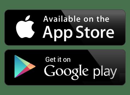 Parsisiųskite per Google Play arba AppStore